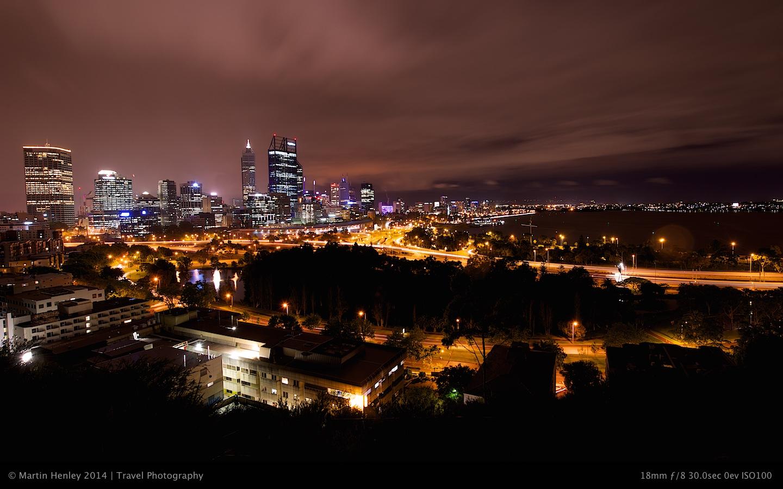Perth Skyline @ Night 169 2014-10-31