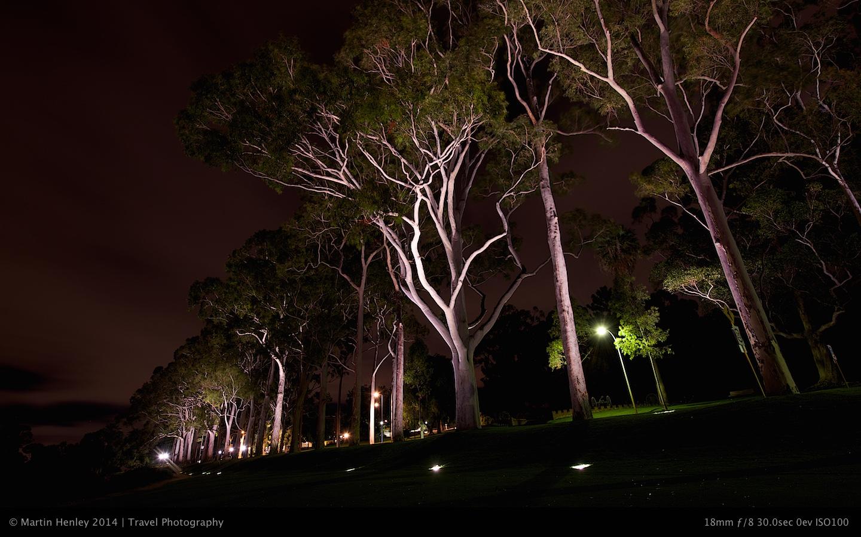 Perth Skyline @ Night 170 2014-10-31