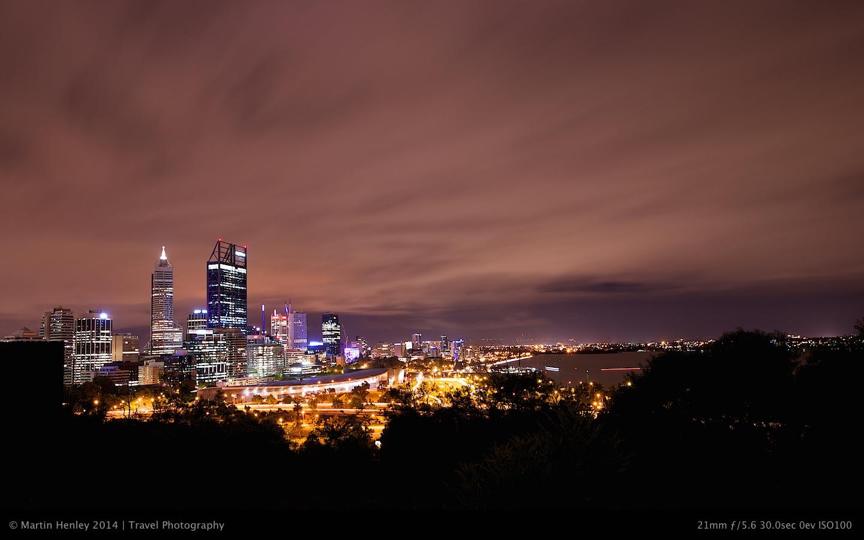 Perth Skyline @ Night 172 2014-10-31