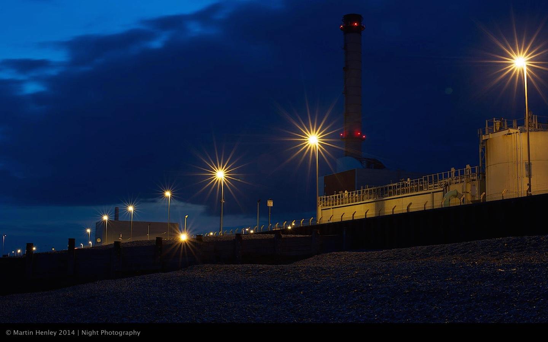 Shoreham Power Station Twilight 349 2014-11-17
