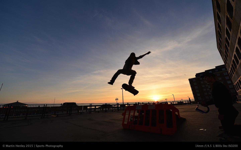 Skaters & Sunset 220 2015-01-04