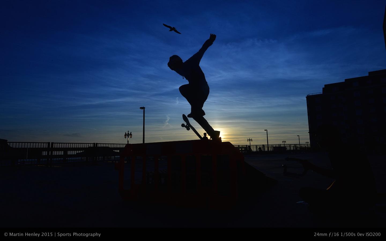 Skaters & Sunset 221 2015-01-04