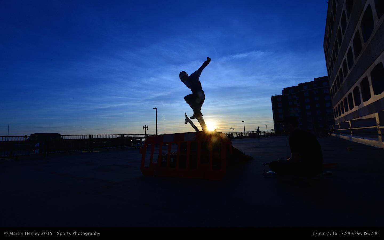 Skaters & Sunset 226 2015-01-04