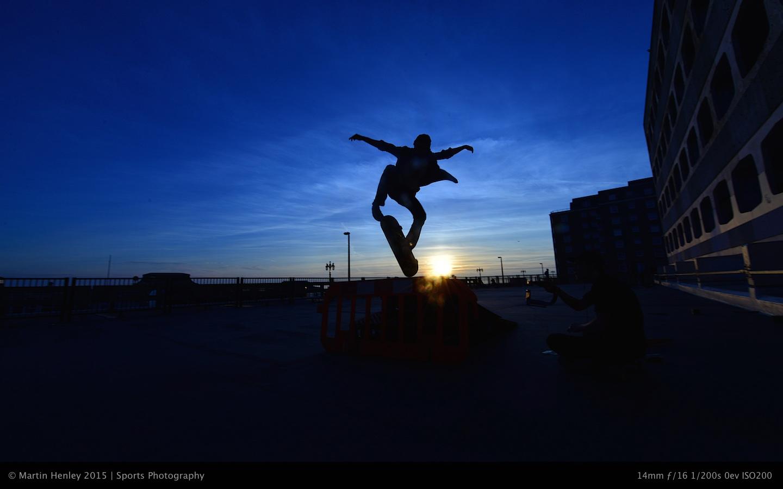 Skaters & Sunset 230 2015-01-04