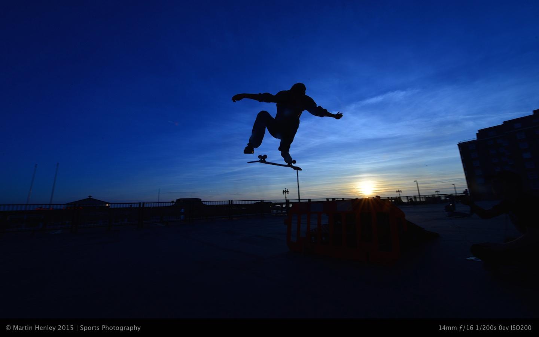 Skaters & Sunset 232 2015-01-04