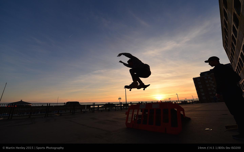 Skaters & Sunset 240 2015-01-04