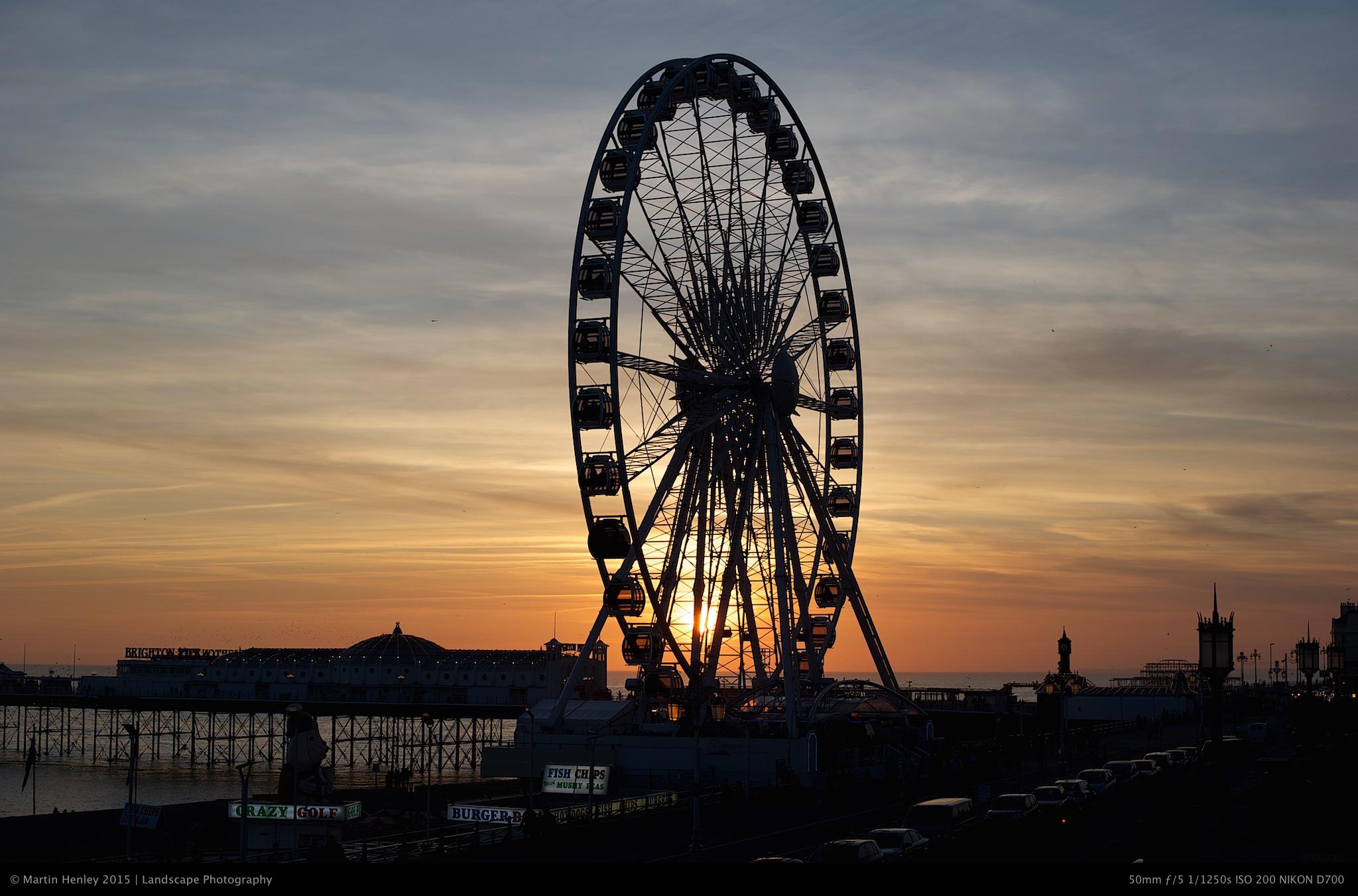 Brighton Sundown Feb 26 2012 3