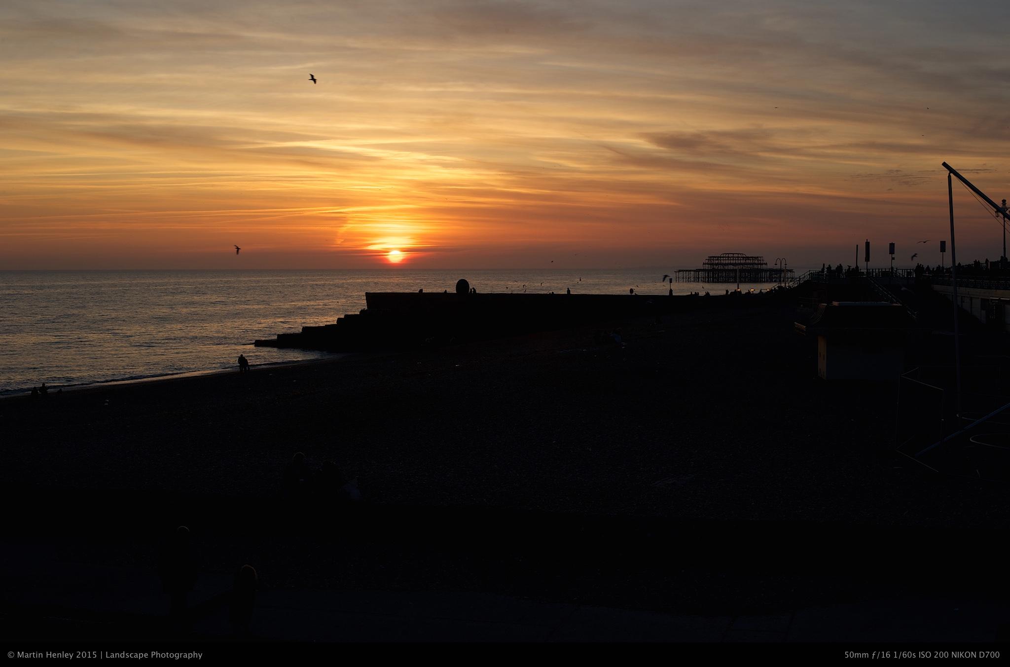 Brighton Sundown Feb 26 2012 4