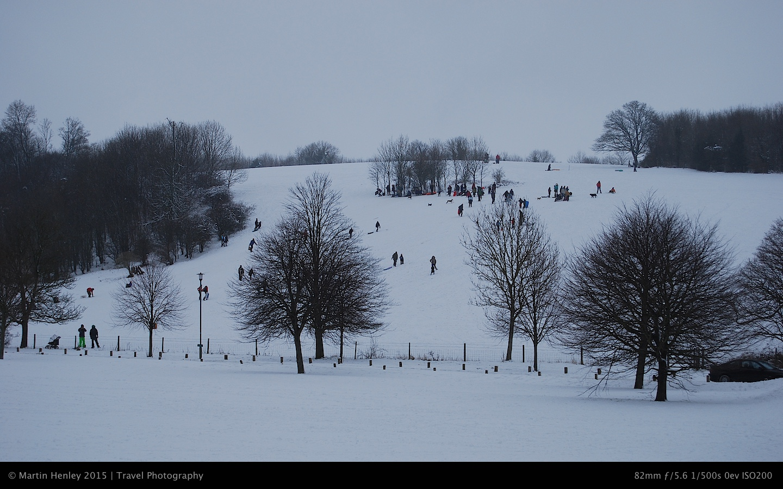 Stanmer Park Snow  5
