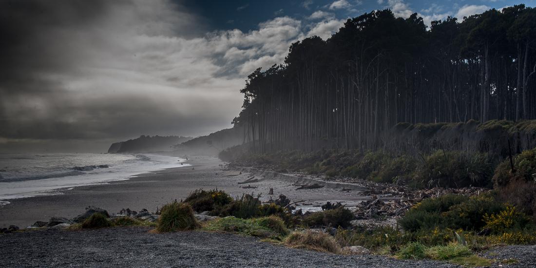 Maori Beach, Bruce Bay-1