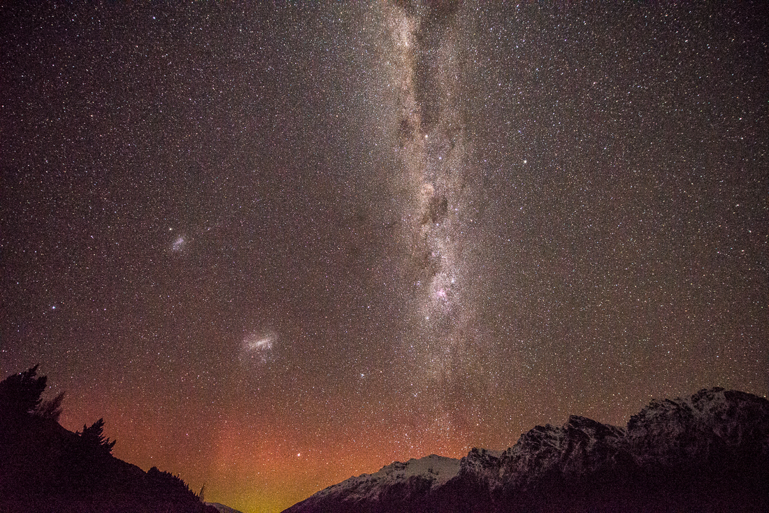 The Remarkables Aurora