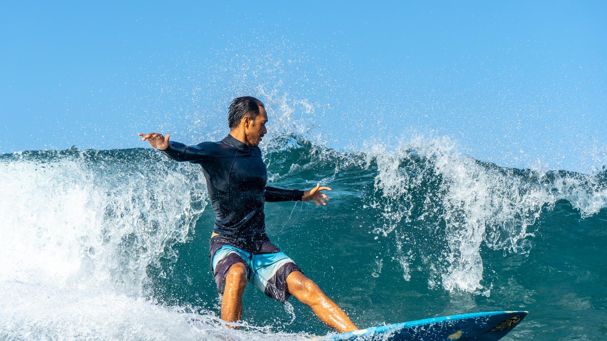 Cruel Sea, Surf, Batu Bolong